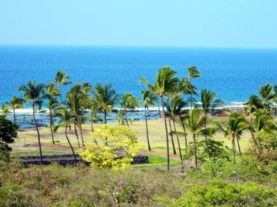 Actual view from your lanai of unit N4. Our home is uniquely located with view. - Best Na Hale View, Location and Amenities with Great Pricing! - Kailua-Kona - rentals