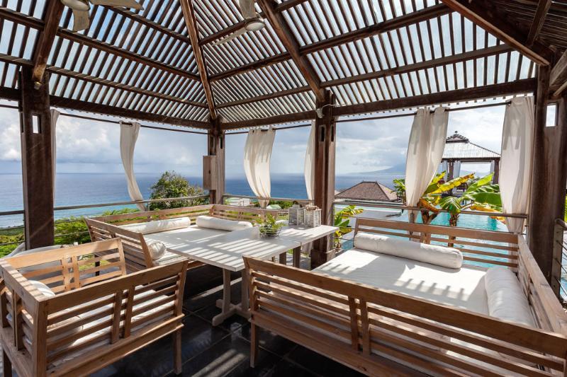 Lounge/dining area - Knippenga Estate Villa L'Oasis - Saint Eustatius - rentals