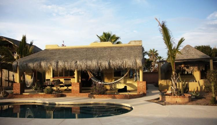 Main house with Pool - Surf Vacation in El Pescadero - El Pescadero - rentals
