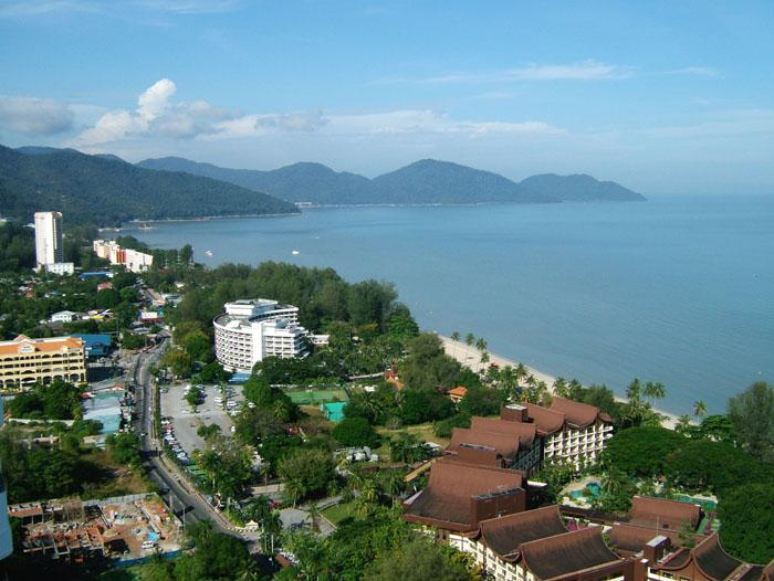 View from Sri Sayang - Susie's Seaside Holiday Apartments Penang - Batu Ferringhi - rentals