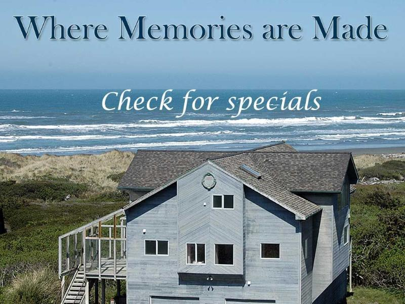 OCEANFRONT CASTLE WATCH WHALES NOW STEPS TO BEACH - Image 1 - Gold Beach - rentals