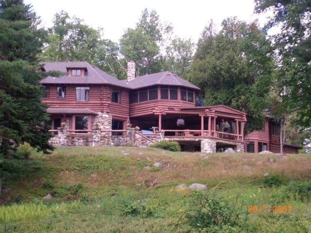 Lakefront Adirondack Great Camp: Pristine & Unique - Image 1 - Blue Mountain Lake - rentals