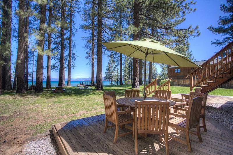 Lake Views From Every Window, Private Beach, Big Y - Image 1 - South Lake Tahoe - rentals