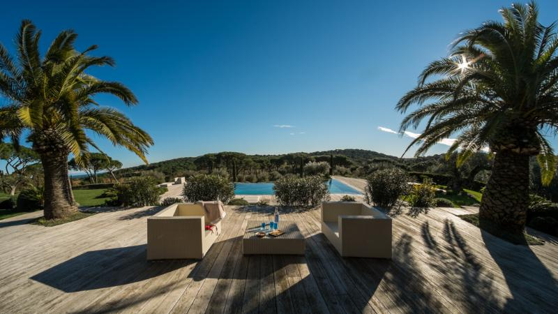 Majestic St Tropez 6 Bedroom Villa with Tennis Court and Pool - Image 1 - Saint-Tropez - rentals