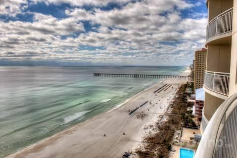 Quiet 2 Bedroom Condo with Indoor Pool and Hot Tub at Aqua - Image 1 - Panama City Beach - rentals