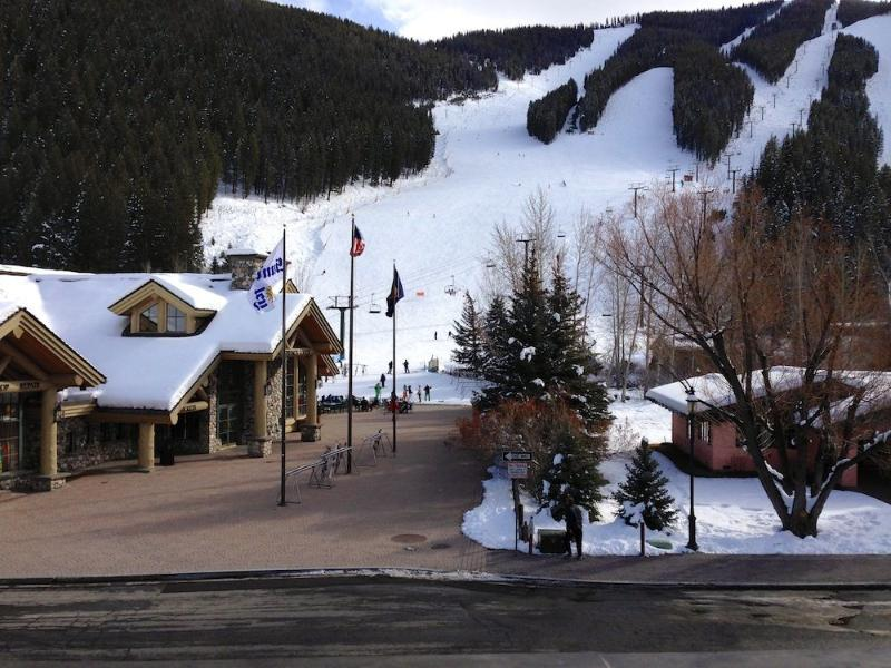 Porch view - Warm Springs - Ski/Bike Out the Front Door! 2 BR, 2 BA w/AC - Ketchum - rentals