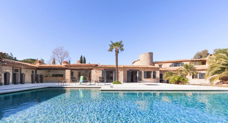 Renovated Old Country House with Fireplace and Pool, St-Tropez - Image 1 - Saint-Tropez - rentals