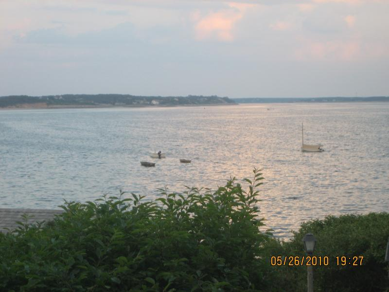 View of the bay from the deck - Wellfleet Cottage on the bay - Wellfleet - rentals
