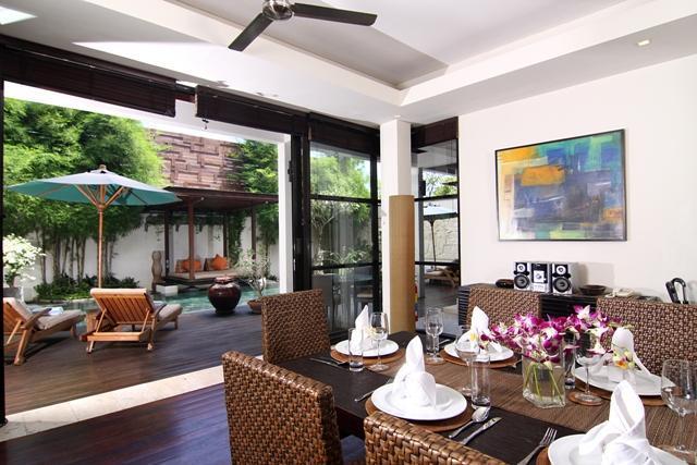 dining room - Temple Hill Residence Villa@villa Jacinta - Kedonganan - rentals