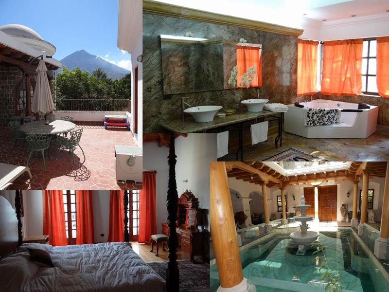Mountain View and Indoor Pool - Magic Maya Antigua - Antigua Guatemala - rentals