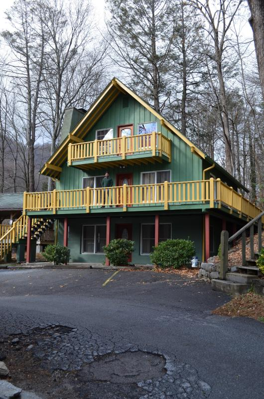 Exterior Front - Rocky Broad Unit 2 Mt Village Chalet Chimney Rock - Chimney Rock - rentals