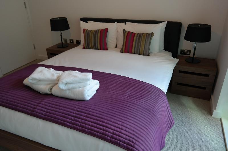 Bedroom 1 - Avente Grade Two Bedroom Aapartment #11 - London - rentals