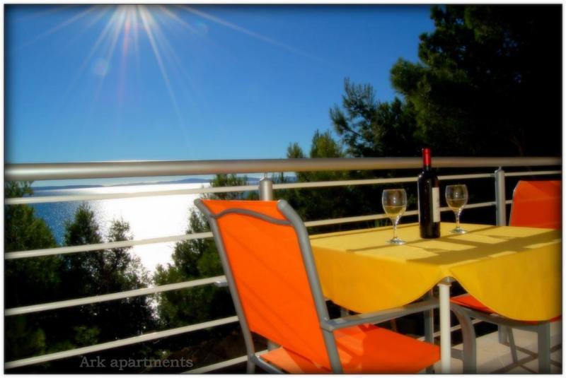 panoramic balcony - Ark 4* panoramic sea view suite 1/3, Goat - Stobrec - rentals