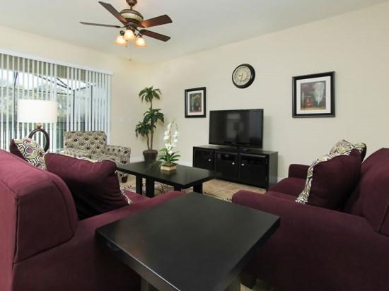 6 Bedroom 5 Bath Pool Home with Loft in Paradise Palms Resort. 8870CP - Image 1 - Orlando - rentals