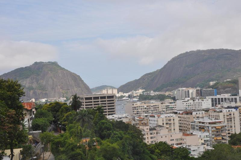 Front View from the Balcony - Home of the Lions - Large Luxury Home, Comfortable, Fun and Well Located - Rio de Janeiro - rentals