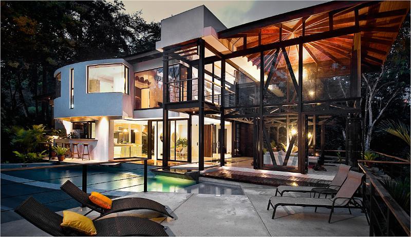 Evening Exterior - Villa Mariana, Manuel Antonio's Sexiest Villa - Manuel Antonio National Park - rentals