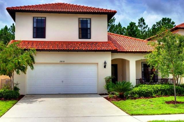 La Bella Vita view from the street, waiting for your family to visit - La Bella Vita Family Villa in Kissimmee by Disney - Kissimmee - rentals