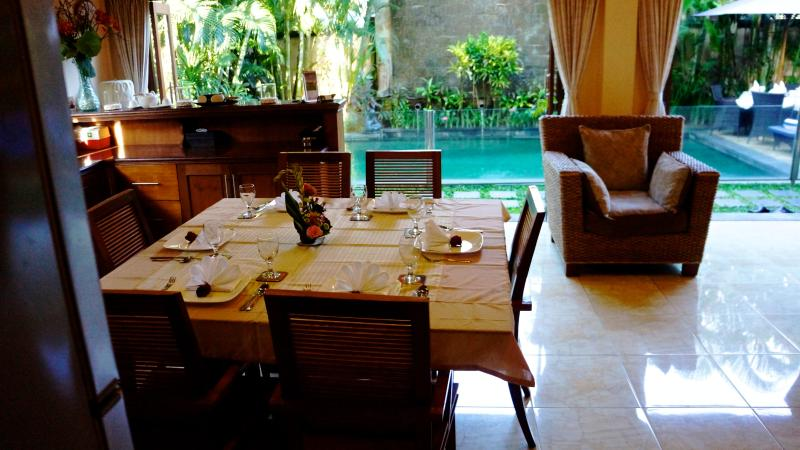 Dining room looking to pool - Villa Kupu Kupu - Seminyak - rentals