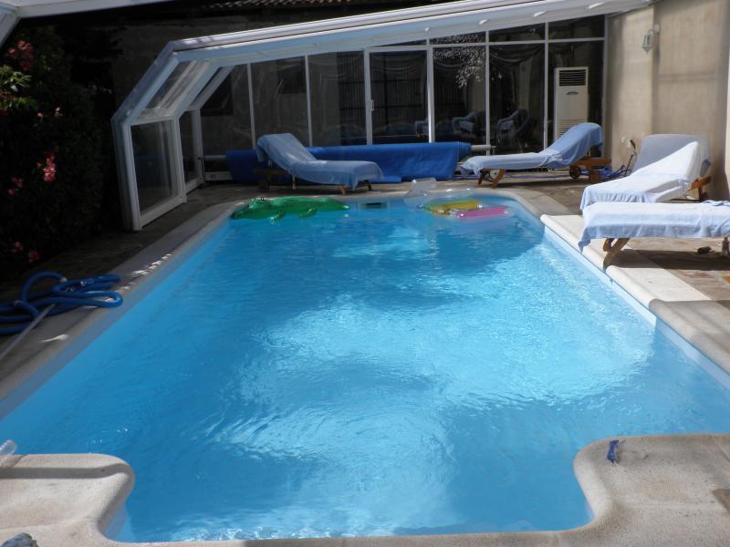 Piscina - Casa con piscina cubierta y climatizada,barbacoa,WIFI - Vecilla de la Polvorosa - rentals