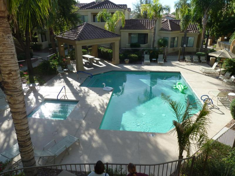 one of two pools about 40 yards away - Welcome to sunny Scottsdale, AZ - Scottsdale - rentals