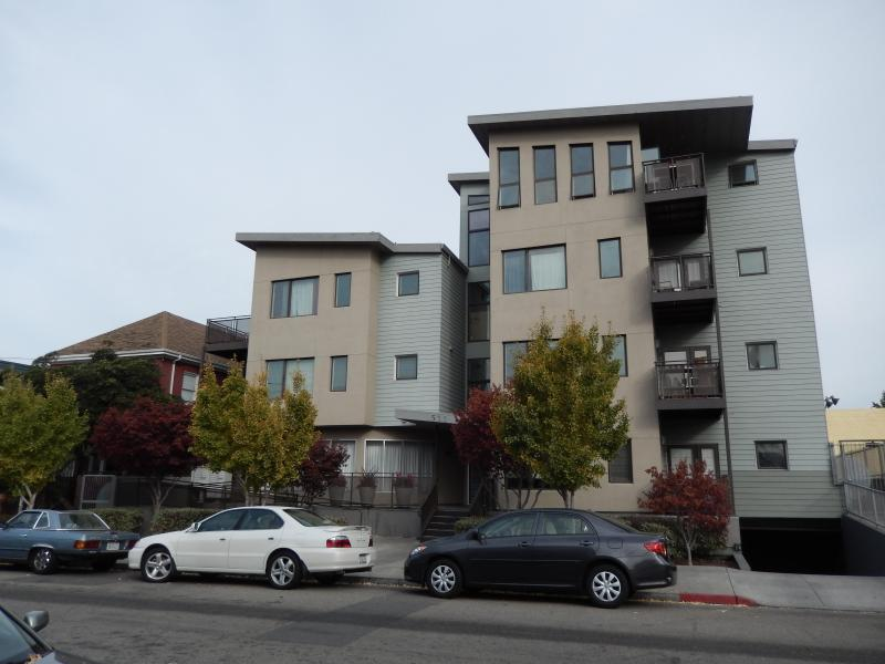 Condo Building View - Stylish, Newly Furnished, Uptown Condominium - Oakland - rentals
