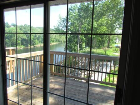 Summer View from Recliner - Relax at Lake Taneycomo in Branson - Branson - rentals
