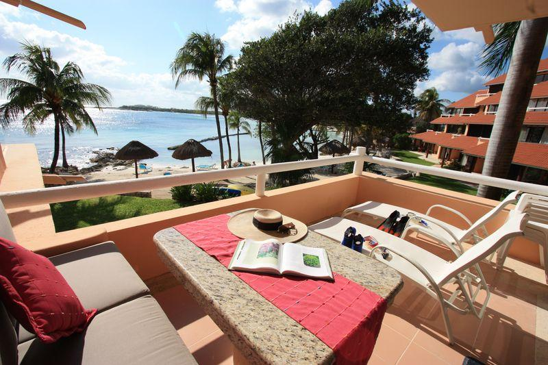 Your view everyday!! - Totally Remodeled Best Modern One Bedroom in Chac - Puerto Aventuras - rentals