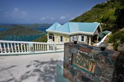 Scenic 3 Bedroom Hillside Villa in Coral Bay - Image 1 - Coral Bay - rentals