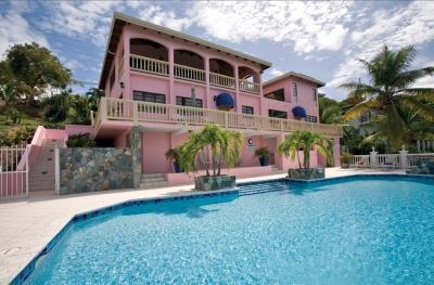 4 Bedroom Villa with Private Pool and View on St. Thomas - Image 1 - Benner - rentals