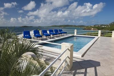 Sensational 5 Bedroom Beachfront Villa in Secret Harbour - Image 1 - Benner - rentals