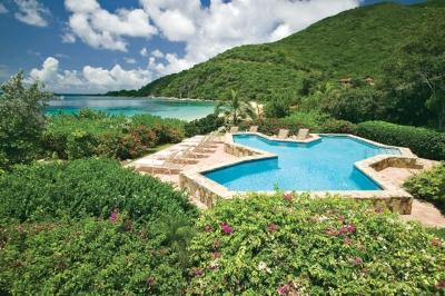 5 Bedroom Villa with Private Pool on the Edge of Mahoe Bay - Image 1 - Mahoe Bay - rentals