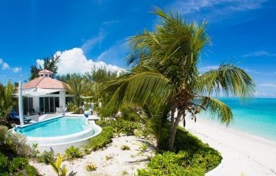 Paradise On The Beach - 7 Bedroom Beachfront Villa in Grace Bay - Grace Bay - rentals