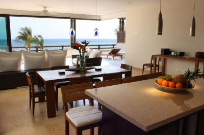 4 Bedroom Beachfront Apartment in Punta MIta - Image 1 - Punta de Mita - rentals