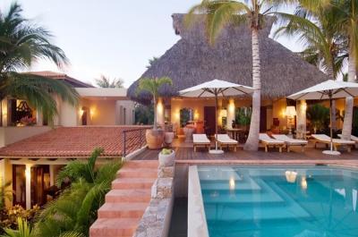 Spectacular 5 Bedroom Residence facing Banderas Bay in Punta Mita - Image 1 - Punta de Mita - rentals