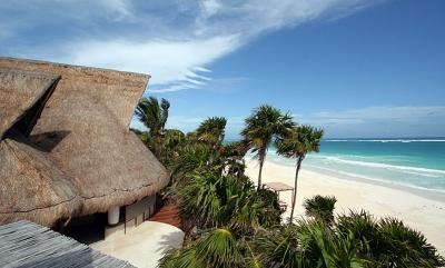 Beautiful 4 Bedroom Beachfront Villa in Quintana Roo - Image 1 - Tulum - rentals
