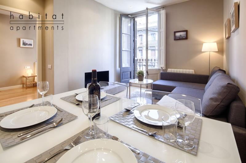 Boulevard 3 Apartment, Elegant Apartment in the Art Gallery District - Image 1 - Barcelona - rentals