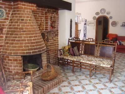 Fireplace - Ambrosia Luxury Villa - Casteldaccia - rentals