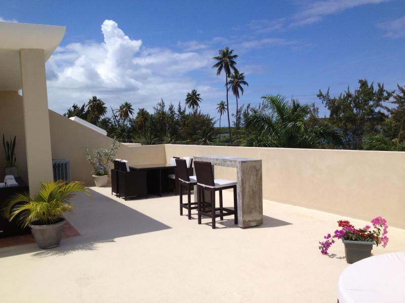Rooftop terrace - Luxury, Oceanfront, 2-Level, Penthouse Villa - Fajardo - rentals