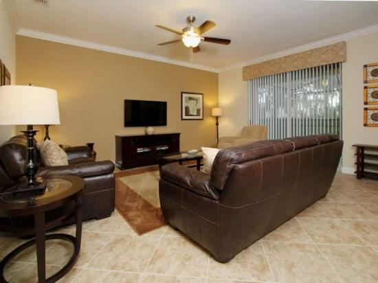 6 Bedroom 5 Bath Pool Home in Paradise Palms Resort. 8858CP - Image 1 - Orlando - rentals