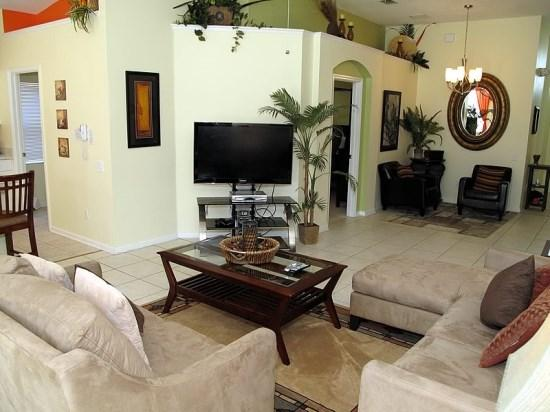 4 Bedroom 3 Bath Pool Home In gated Resort. 8116SPD - Image 1 - Orlando - rentals
