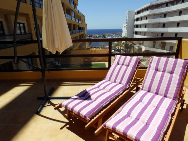 Beautiful apart. with terrace & pool golf del sur - Image 1 - Golf del Sur - rentals