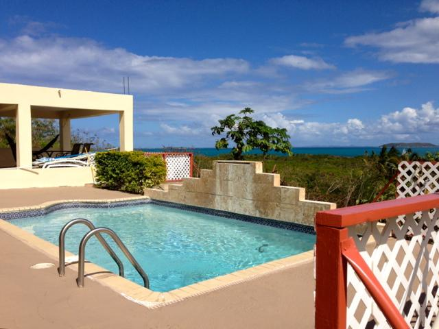 Cool Relaxing Private Pool with Caribbean Sea Views - Amazing Caribbean Views 2 BR Apt Private Pool - Fajardo - rentals