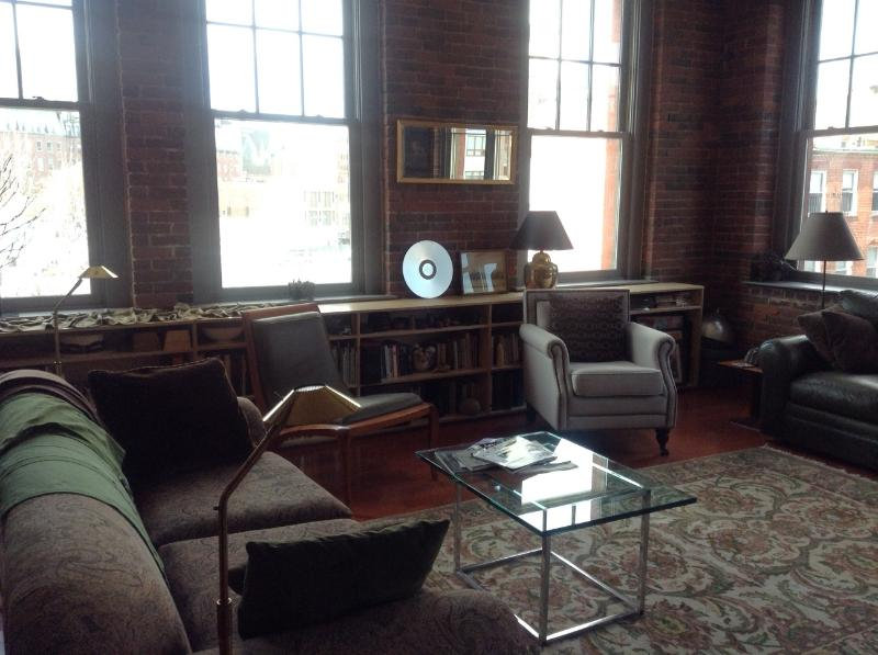 Living Room - Light and spacious loft in Boston's North End - Boston - rentals