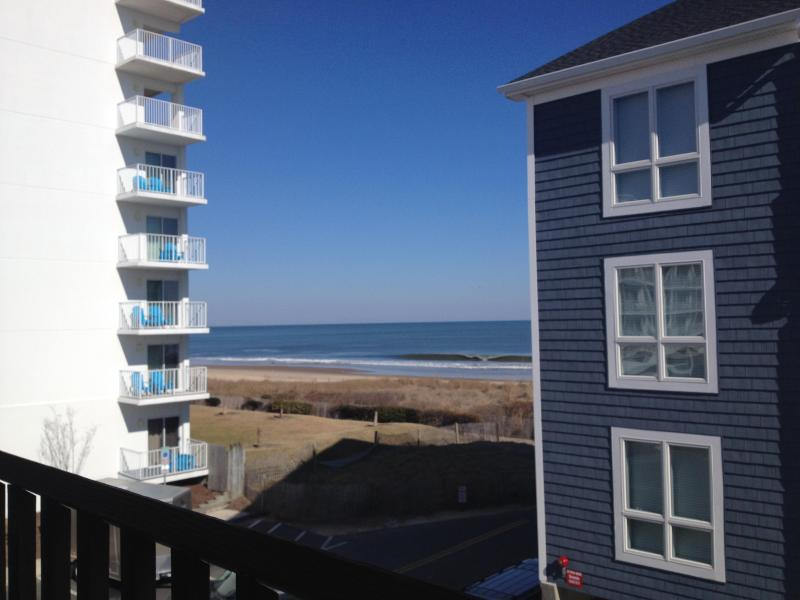 View from Balcony - East Facing OCEAN VIEW Remodeled 1BR1BA - Luxury - Ocean City - rentals