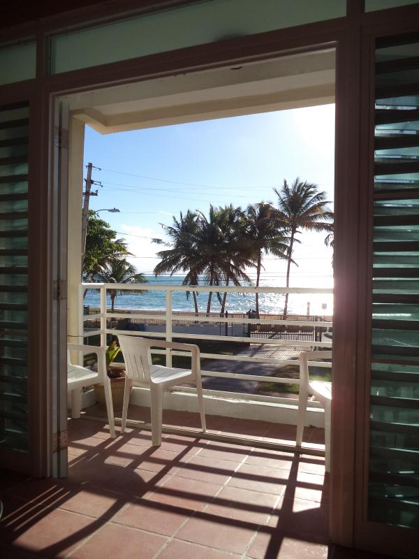 We call this a two door days when the ocean breezes are gentle. - Affordable Beach Lovers Dream On Playa Azul Beach, Luquillo PR - Luquillo - rentals