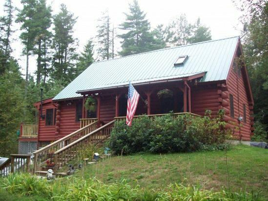 Front of the Cottage - Lakefront Cottage on Thompson Lake - Oxford - rentals