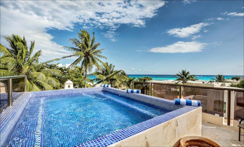 Casa Nikki - 5M from the Beach Private Estate with Two Pools! - Image 1 - Playa del Carmen - rentals