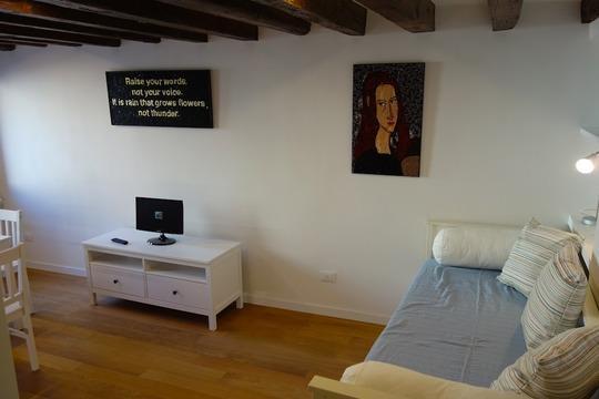 Living room - Venezia arte & cappuccino - Venice - rentals