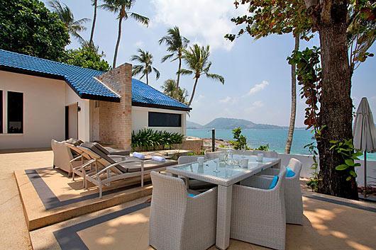 Absolute Ocean Front 2 Bedroom Villa in Kalim Beach - pat03 - Image 1 - Patong - rentals