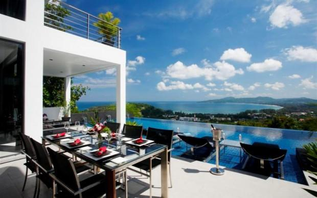 Stunning 5 bedroom sea view pool villa for rent in Surin, Phuket - sur17 - Image 1 - Phuket - rentals